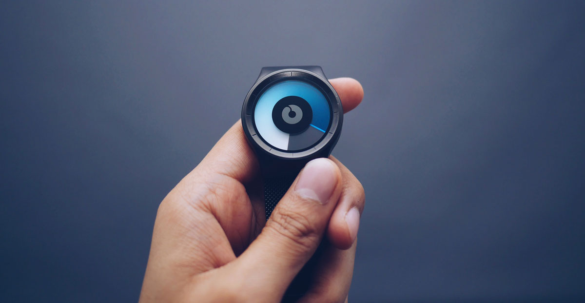Person-Holding-Black-Smartwatch-in-Close-up-Photography